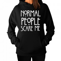 Sudadera Normal People Scare Me