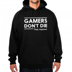 Sudadera Unisex GAMERS DON'T DIE They respawn