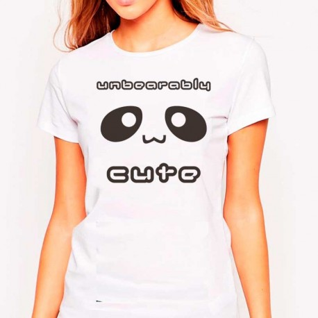 Camiseta Unbearably Cute Kawaii Unisex