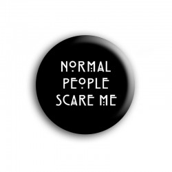 Chapa NORMAL PEOPLE SCARE ME