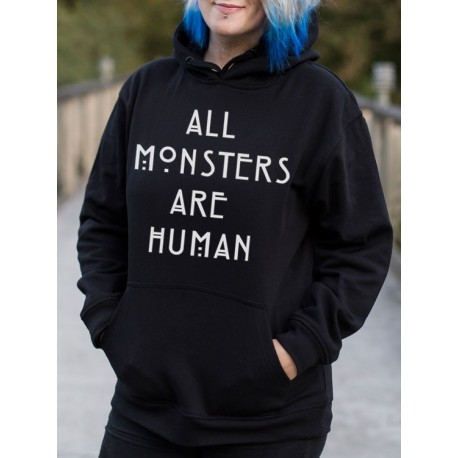 Sudadera All Monsters Are Human